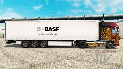 BASF piel para remolques para Euro Truck Simulator 2