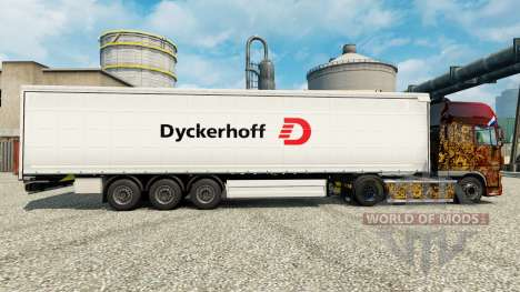 Dyckerhoff skin for trailers para Euro Truck Simulator 2