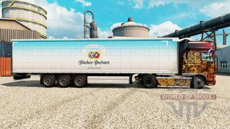 Skin Hacker-Pschorr on semi para Euro Truck Simulator 2