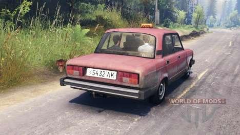 VAZ-2105 para Spin Tires