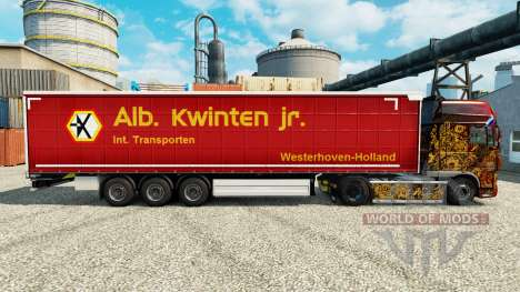 La Piel Alb. Kwlnten Jr en semi para Euro Truck Simulator 2