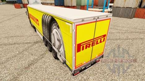 Pirelli piel para remolques para Euro Truck Simulator 2