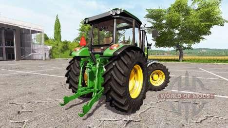 John Deere 5075M para Farming Simulator 2017
