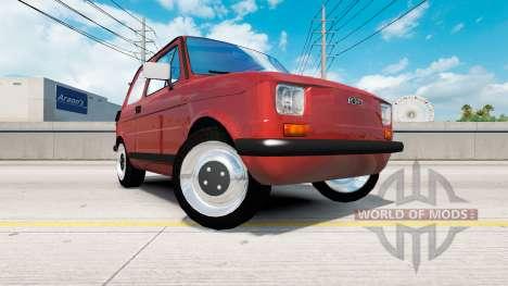 Fiat 126p para American Truck Simulator