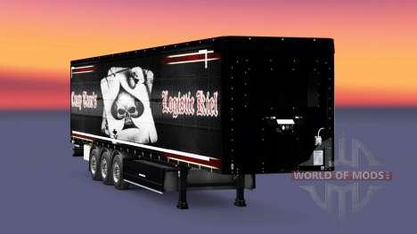 La piel Crasy Trans Logística de Kiel para remol para Euro Truck Simulator 2