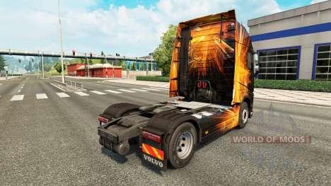 Cúbica de la Llamarada de la piel para camiones  para Euro Truck Simulator 2