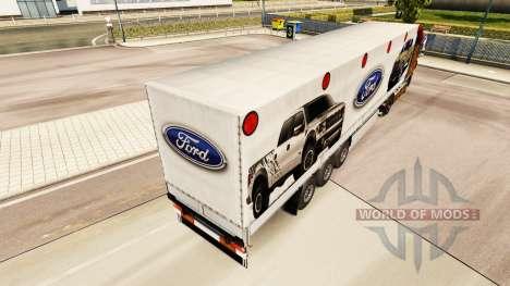 La piel Ford semi para Euro Truck Simulator 2
