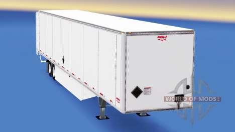 Isométrica semi-remolque Wabash v2.0 para American Truck Simulator