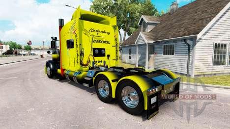 Vanderoel de la piel para el camión Peterbilt 38 para American Truck Simulator