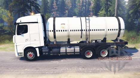 Mercedes-Benz Actros MP4 para Spin Tires