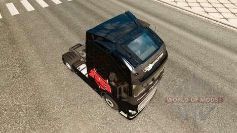 El infierno de Fondos de la piel para camiones V para Euro Truck Simulator 2