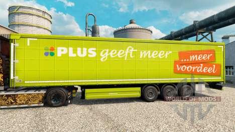 La piel ADEMÁS de semi para Euro Truck Simulator 2