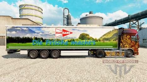 Han Sano de la piel para remolques para Euro Truck Simulator 2