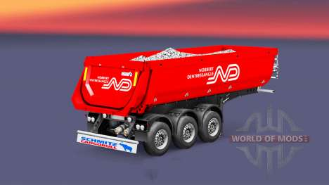 Semi-remolque tipper Schmitz, Norbert para Euro Truck Simulator 2