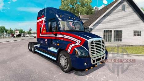 Скин de Carga de los Transportistas на Freightli para American Truck Simulator