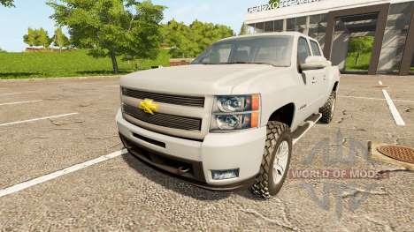 Chevrolet Silverado LT Z71 para Farming Simulator 2017