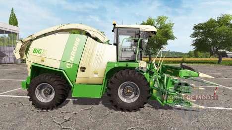 Krone BiG X 1100 v1.0.0.1 para Farming Simulator 2017