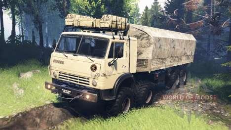 KamAZ-63501-996 Mustang v5.0 para Spin Tires