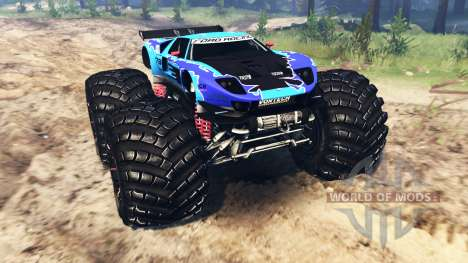 Ford GT [monster truck] para Spin Tires
