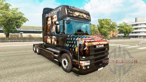 La piel del Pato de la Dinastía de camiones Scan para Euro Truck Simulator 2