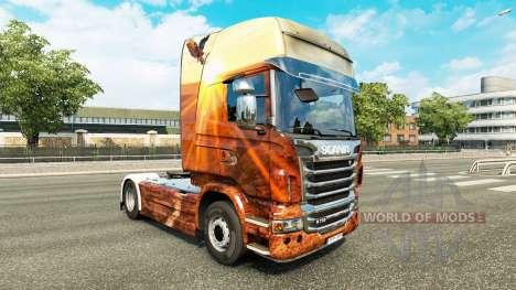 Espíritu libre de la piel para Scania camión para Euro Truck Simulator 2