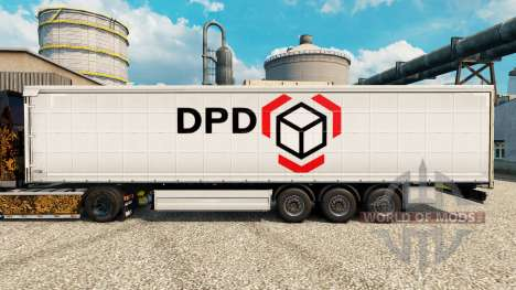 La piel Dinámico Parcela de Distribución para re para Euro Truck Simulator 2