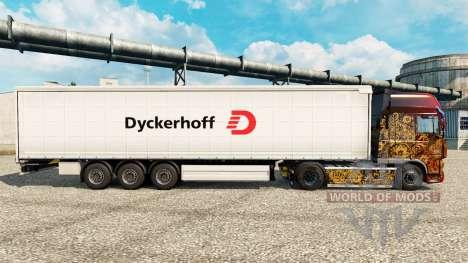 Dyckerhoff skin for trailers para Euro Truck Simulator 2