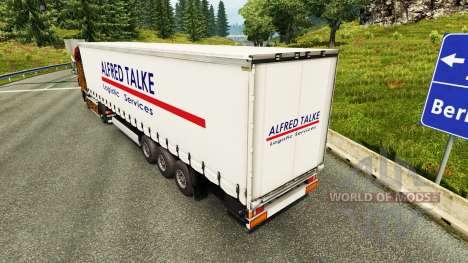 La piel Alfred Talke para remolques para Euro Truck Simulator 2