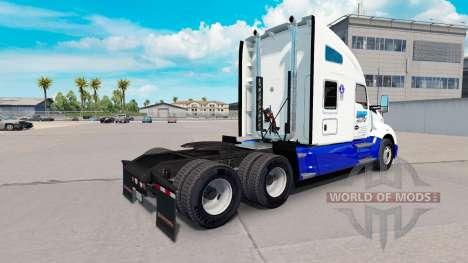 La piel BMP de Transporte en el tractor Kenworth para American Truck Simulator