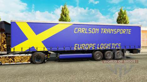 Carlson Transporte de la piel para remolques para Euro Truck Simulator 2
