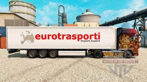 La piel de Transporte para la Euro semi para Euro Truck Simulator 2