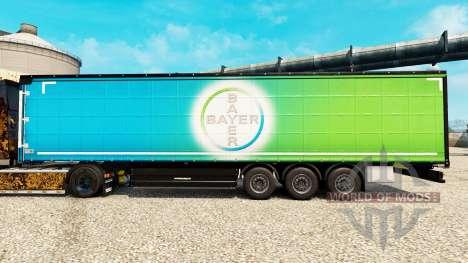 La piel de Bayer para semi-remolques para Euro Truck Simulator 2
