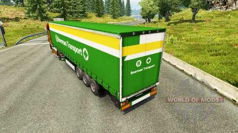 La piel Boerman de Transporte en semi-remolques para Euro Truck Simulator 2