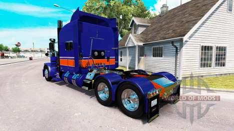 Rollin Transporte de la piel para el camión Pete para American Truck Simulator