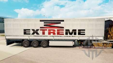 Extrema de la piel para remolques para Euro Truck Simulator 2