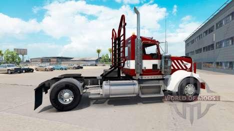 Kenworth W900 Day Cab Heavy Duty para American Truck Simulator