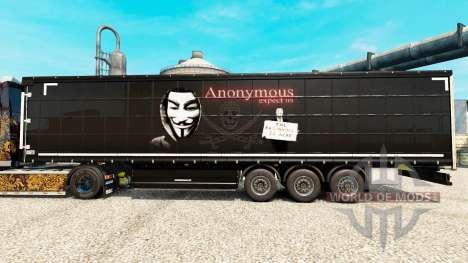 La piel por Anonymous en semi para Euro Truck Simulator 2