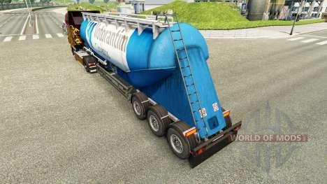 La piel Votorantim cemento semi-remolque para Euro Truck Simulator 2