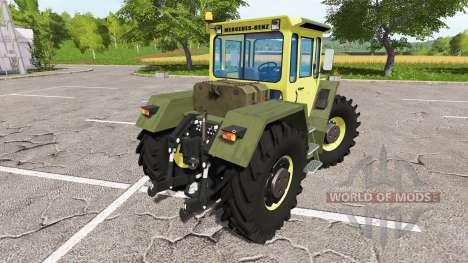 Mercedes-Benz Trac 1800 Intercooler para Farming Simulator 2017