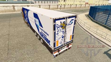Semitrailer el refrigerador Schmitz Jens Bode para Euro Truck Simulator 2