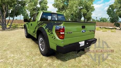 Ford F-150 SVT Raptor v1.6 para American Truck Simulator