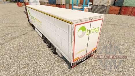 La piel de Llevar la Logística de los remolques para Euro Truck Simulator 2