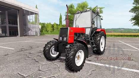 MTZ-Belarús 1025 para Farming Simulator 2017