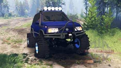 Suzuki Grand Vitara v4.0 para Spin Tires