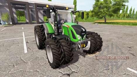 Fendt 724 Vario dual wheels para Farming Simulator 2017