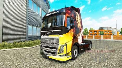 La piel de los Momentos Mágicos de Volvo trucks para Euro Truck Simulator 2