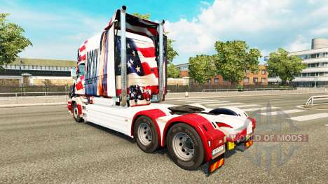 Rocky estados UNIDOS de la piel para camión Scan para Euro Truck Simulator 2