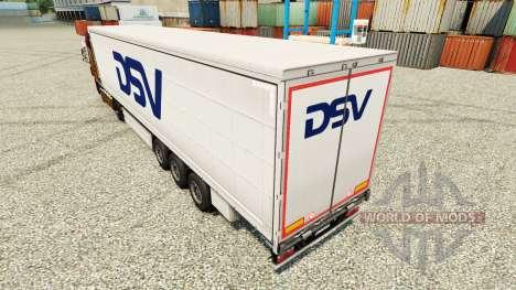 DSV de la piel para remolques para Euro Truck Simulator 2