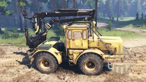 Kirovets K-700 v2.1 para Spin Tires
