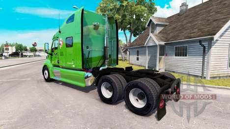 El SARGENTO de la piel para el camión Peterbilt  para American Truck Simulator